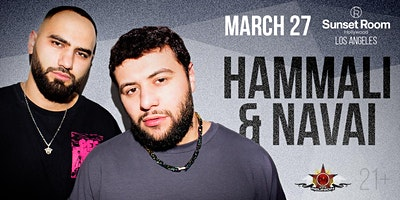 HammAli & Navai // Live in Concert // Los Angeles