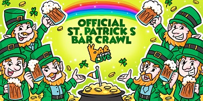 Official St. Patrick's Bar Crawl | Cleveland, OH - Bar Crawl Live