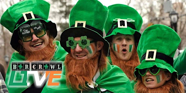 Official St. Patrick's Bar Crawl | New Haven, CT - Bar Crawl Live image