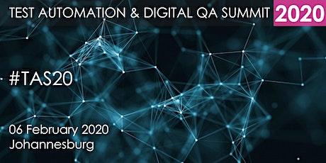 Test Automation and Digital QA Summit 2020 - Johannesburg tickets