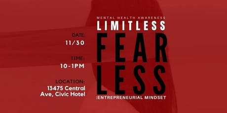 FEARLESS: Entrepreneurial Mindset tickets