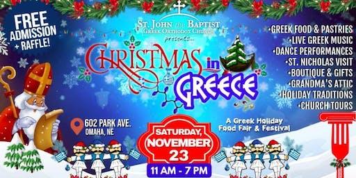 Christmas in Greece: Holiday Food Fair & Festival