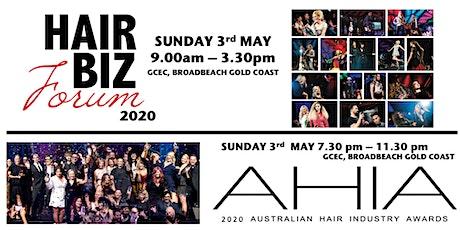 HAIR BIZ FORUM and AHIA 2020 Combo Ticket tickets