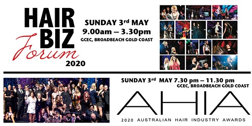 HAIR BIZ FORUM and AHIA 2020 Combo Ticket