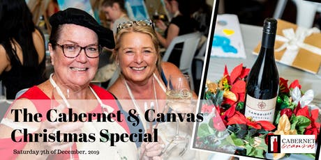 Cabernet & Canvas: Christmas Special tickets