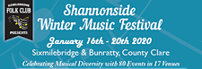 Shannonside Winter Music Weekend In Association with Sixmilebridge Folk Club  logo