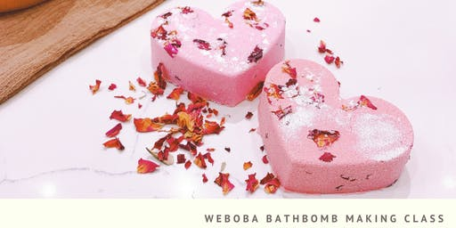 Bathbomb Making Class WeBoba