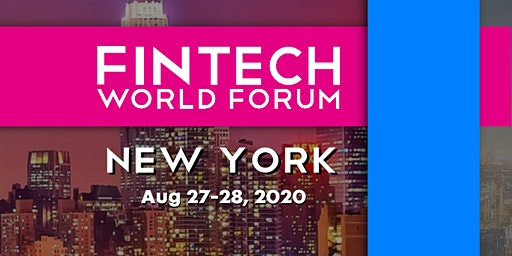 FinTech World Forum 2020 - New York