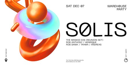 SOLIS - Warehouse Day Party tickets