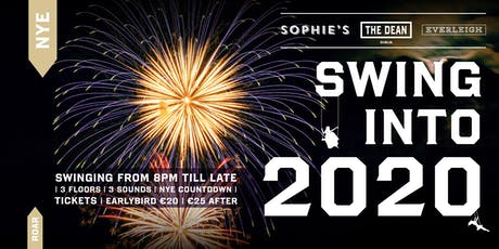 Swing into the New Year! | NYE at Sophie's at The Dean tickets