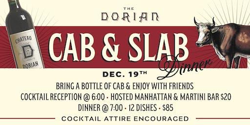 3rd Annual Cab & Slab Dinner