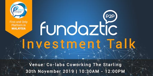 Investment Talk by Fundaztic