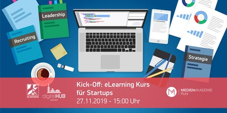 Kick-Off in der digitalCHURCH – eLearning Kurs für Startups Tickets