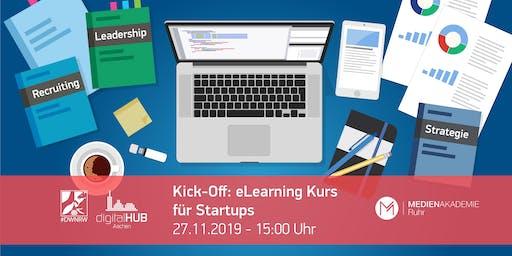 Kick-Off in der digitalCHURCH – eLearning Kurs für Startups