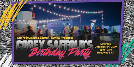 Corey Saffold's Very, Very Fresh 90's Birthday Party Bash tickets