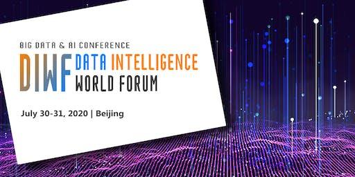 Data Intelligence World Forum 2020 - Beijing
