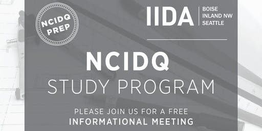 IIDA NPC NCIDQ Study Program Informational Meeting 2020