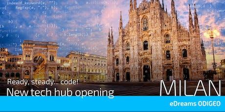 eDreams ODIGEO Tech landing in Milan! biglietti
