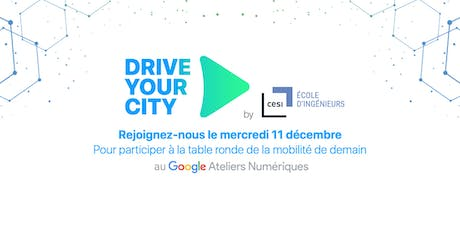 Drive Your City: Table ronde de la mobilité billets