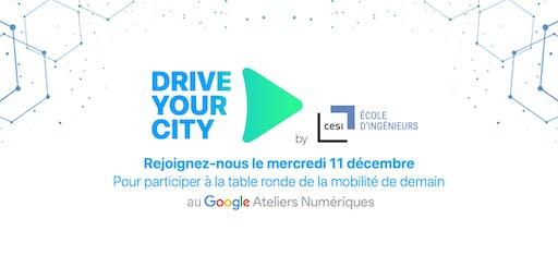 Drive Your City: Table ronde de la mobilité