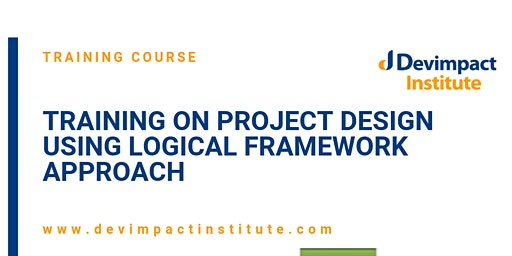 Training on Project Design using Logical Framework Approach