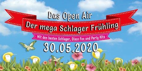 Der mega Schlager Frühling -  DAS OPEN AIR Pfingstspezial Tickets