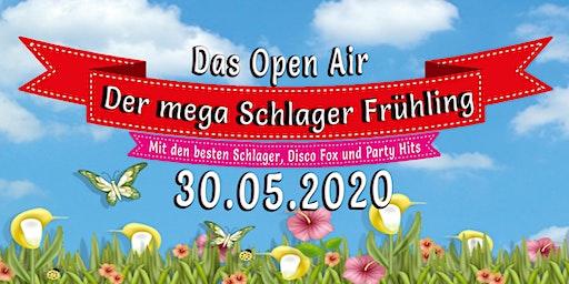 Der mega Schlager Frühling -  DAS OPEN AIR Pfingstspezial