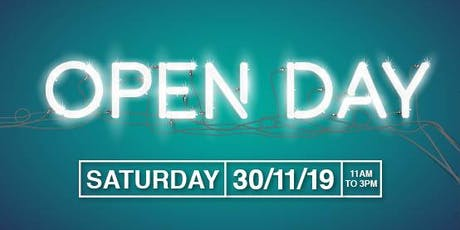 Leicester College Open Day 30 November 2019 tickets
