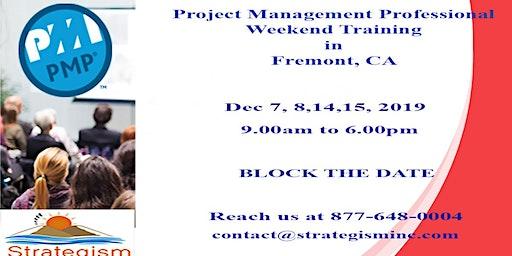 PMP weekend Bootcamp in Fremont-Dec-7,8,14,15-2019