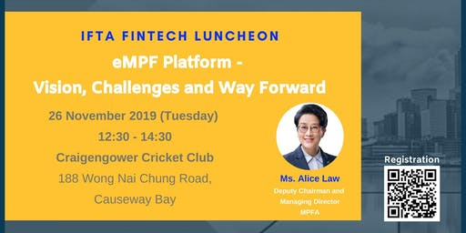 Luncheon on eMPF Platform - Vision, Challenges and Way Forward