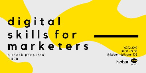 A SNEAK PEEK INTO 2020: DIGITAL SKILLS FOR MARKETERS