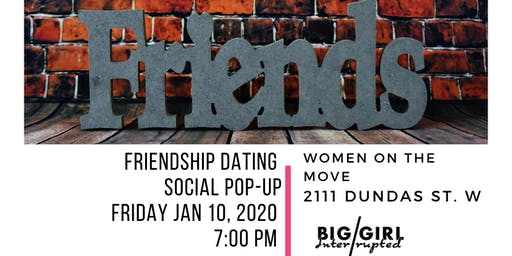 FRIENDSHIP DATING SOCIAL POP-UP