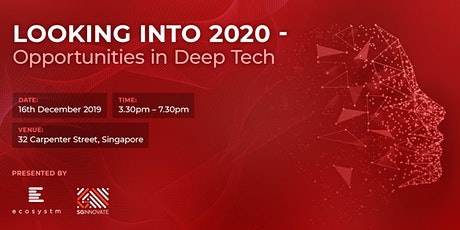 Looking into 2020 - Opportunities in Deep Tech tickets