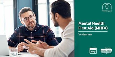 Mental Health First Aid Training - Mansfield
