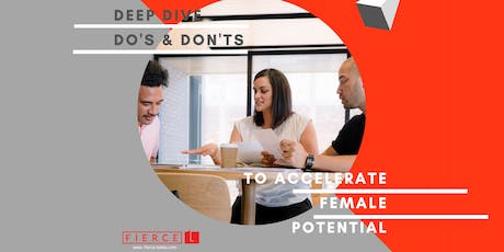 How to get more women in leadership roles in your company? tickets
