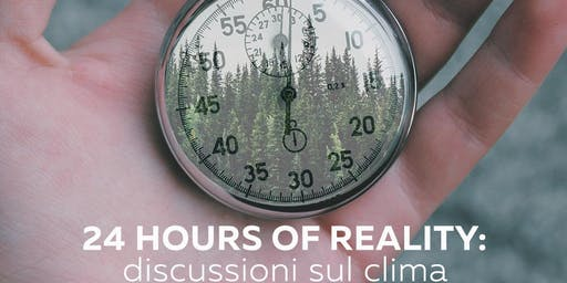 24 Hours of Reality: Discussioni sul Clima