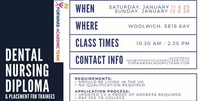 Dental Nursing Diploma/Courses in Woolwich - January 2020