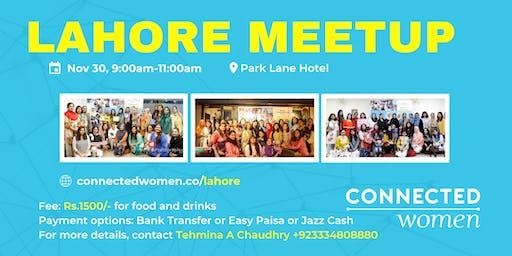 #ConnectedWomen Meetup - Lahore (PK) - November 30