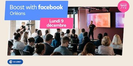 Boost with Facebook avec la CCI Loiret billets