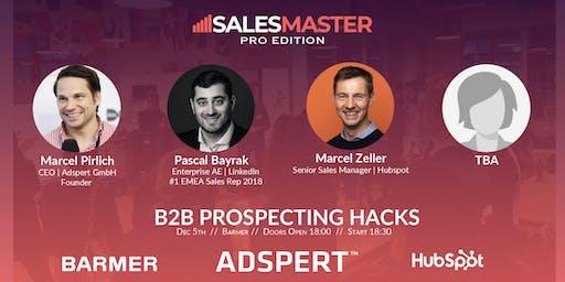 SalesMaster [Pro] | PROSPECTING HACKS FOR B2B SALES
