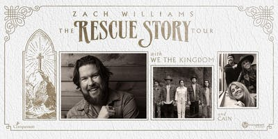 Zach Williams | The Rescue Story Tour
