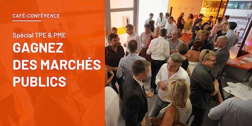 Gagnez des marchés publics – Café-conférence spécial TPE & PME