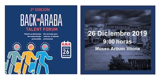 Back To Araba Talent Forum 2019