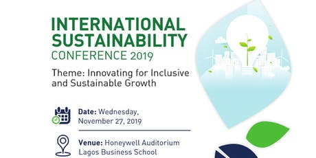 International Sustainability Conference (#ISC2019) tickets