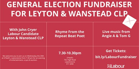 General Election - Fundraiser tickets