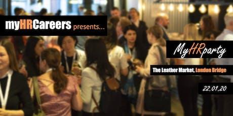 myHRparty 22.01.20 London tickets