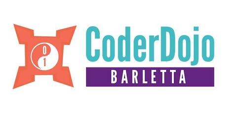 CoderDojo Barletta (Pomeriggio) biglietti