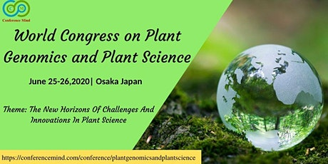 World Congress on Plant Genomics and Plant Science tickets