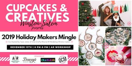 Cupcakes & Creatives Holiday Makers Mingle tickets