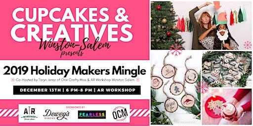 Cupcakes & Creatives Holiday Makers Mingle